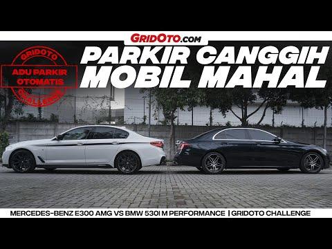 Adu Parkir Otomatis | BMW 530i vs Mercedes Benz E 300 | GridOto Challenge