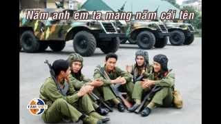 Năm anh em trên một chiếc xe tăng Vietsub Lyrics