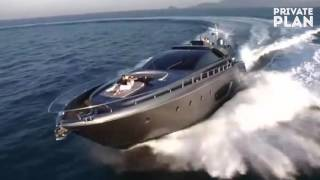 RHINO RIVA DOMINO YACHT Charter with PRIVATE PLAN