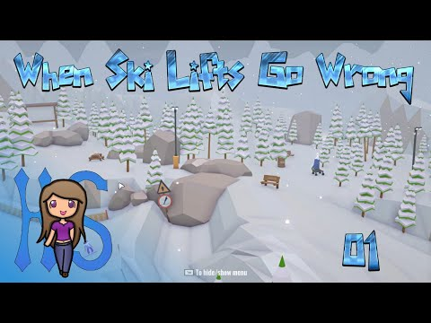 When Ski Lifts Go Wrong - Episode 01 - Let's Play |