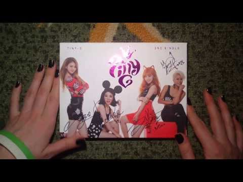 Unboxing TINY-G 타이니지 3rd Single Promo Album Miss You 보고파 (Signed)