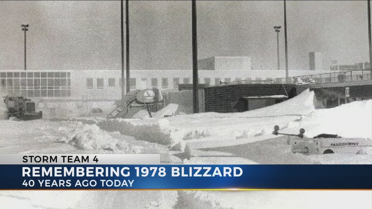 Blizzard Of 1978 40th Anniversary Youtube