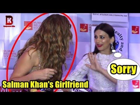 Salman Khan's Girlfriend Lulia Vantur & Sonali Bendre At Red Carpet Of 9th The Walk Of Mijwan