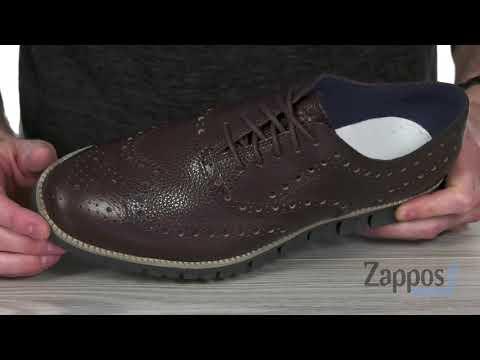 Cole Haan Zerogrand Wingtip Oxford Leather SKU: 9159098