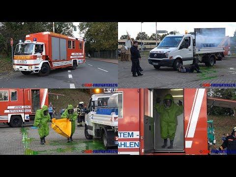[Gefahrgutunfall] Schauübung der FF Dietzenbach und Rödermark