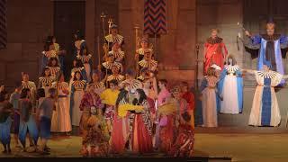 The spectacular Griffith Opera on the Beach - Aida