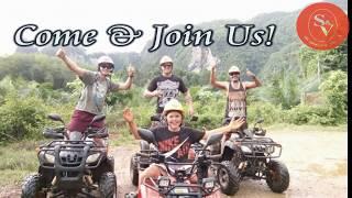 ATV  AT KRABI, THAILAND.  (S&V ADVENTURE)