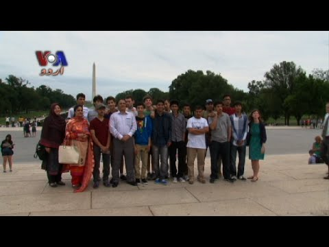 APS Peshawar Students Visit the US- زندگی 360