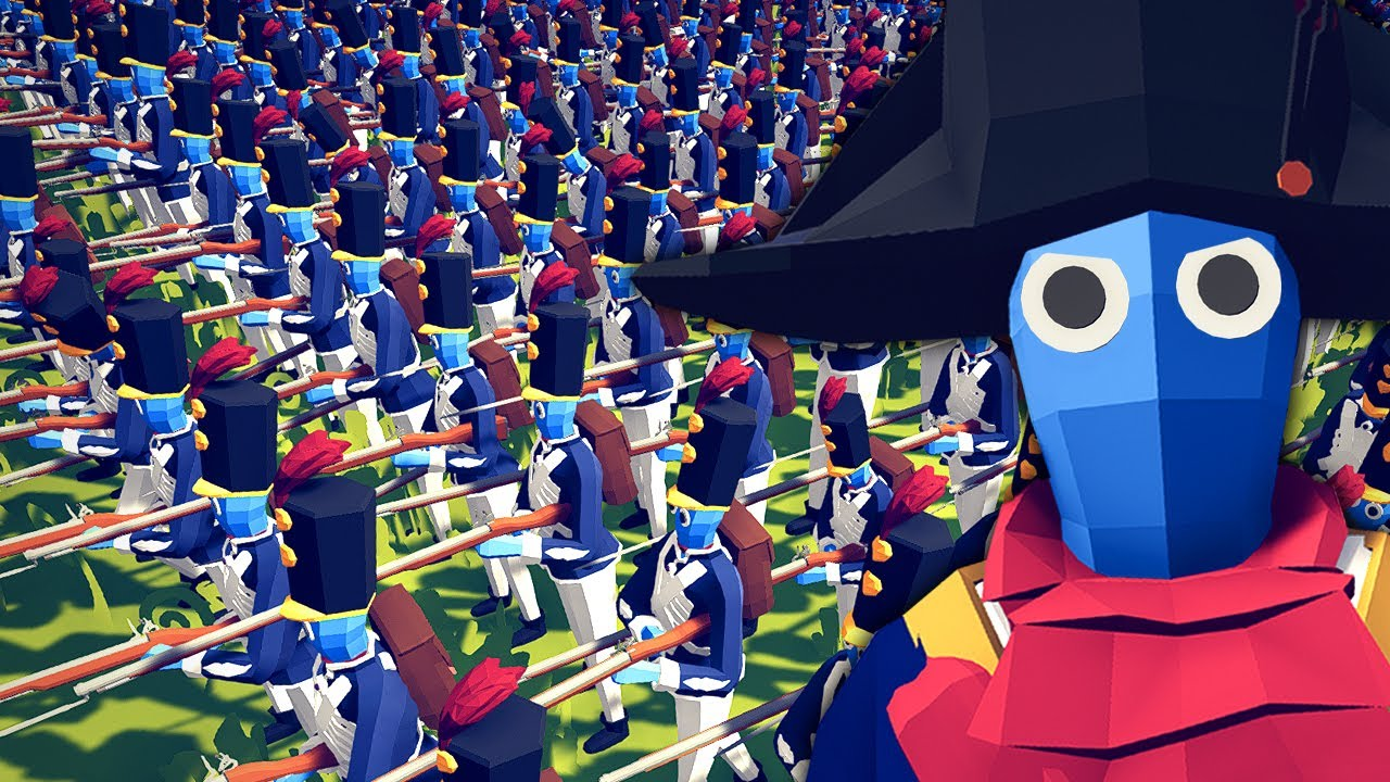 NAPOLEONIC FRENCH vs ALL ARMIES!? TABS Napoleonic Wars! Totally Accurate Battle Simulator Battles