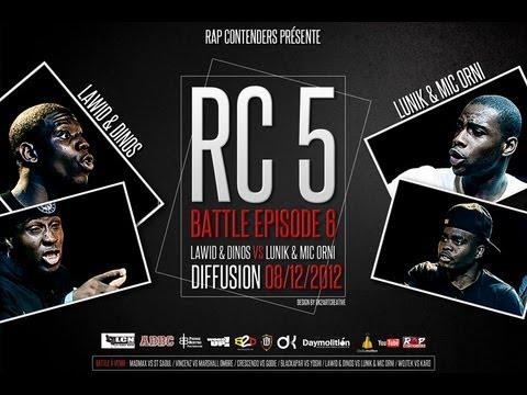 Rap Contenders - Edition 5 - Lawid & Dinos vs Lunik & Mic Orni