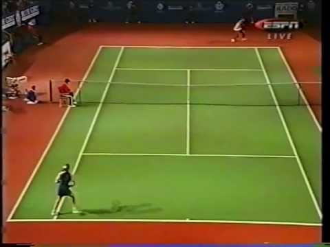 Steffi Graf - Forehand to Forehand (versus Serena Williams)