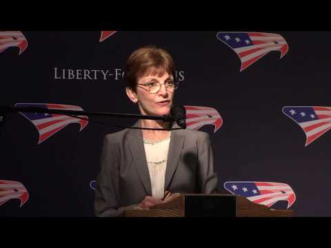 Mona Charen ~ The Liberty Forum ~ 7-10-2018