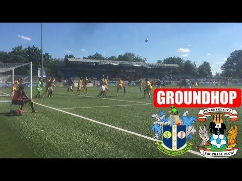 Groundhop Sutton United VS Coventry City/Gander Green Lane