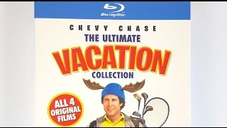 Chevy Chase The Ultimate VACATION Collection Blu-Ray