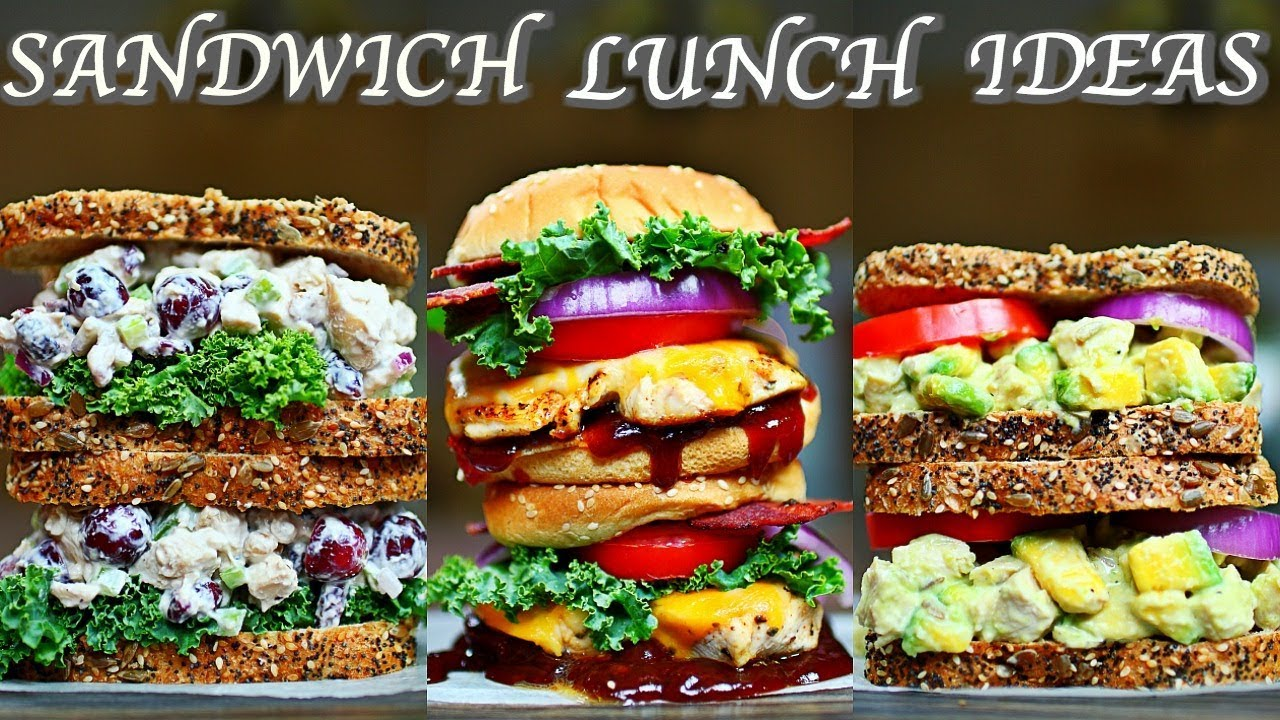lunch sandwich healthy chicken recipes delicious cooking