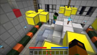 Minecraft Escape #3 Mirrors Edge City | Qusim + escape = fail
