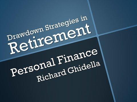 Lecture 36-Drawdown Strategies in Retirement
