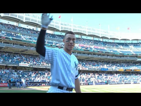 Extended Cut of Judge's 50th HR, breaks rookie record