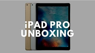 Unboxing iPad Pro. Apple's biggest tablet ever!