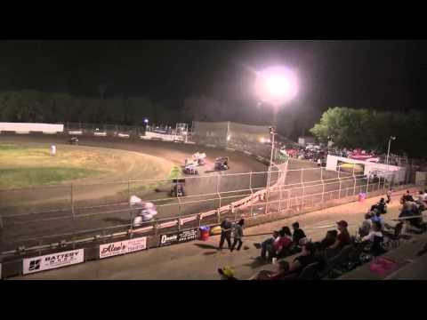 Giovanni Scelzi 8/3/12 Stock Main Event Plaza Park Raceway Visalia