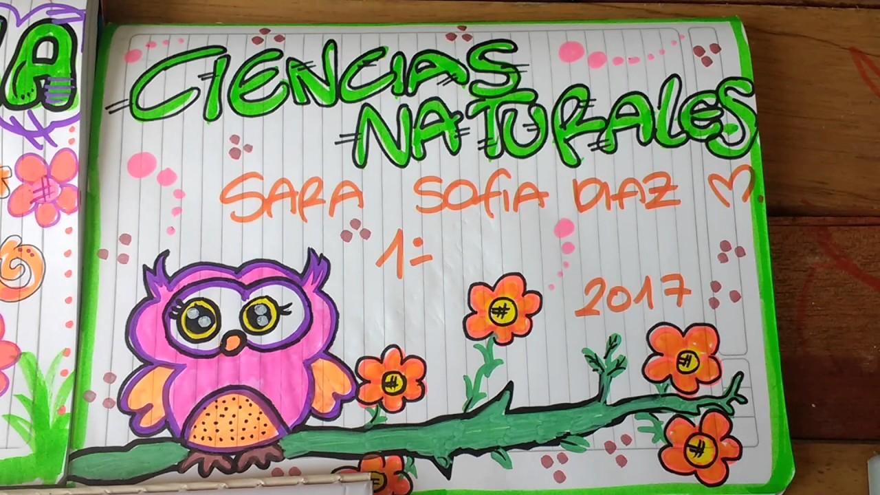 Resultado trabajo de hoy Marcado de cuadernos para niñas
