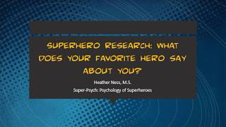 Superhero Research
