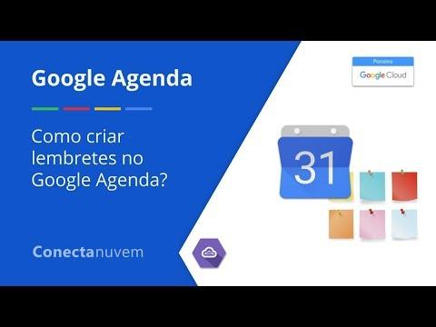 Como criar lembretes no Google Agenda