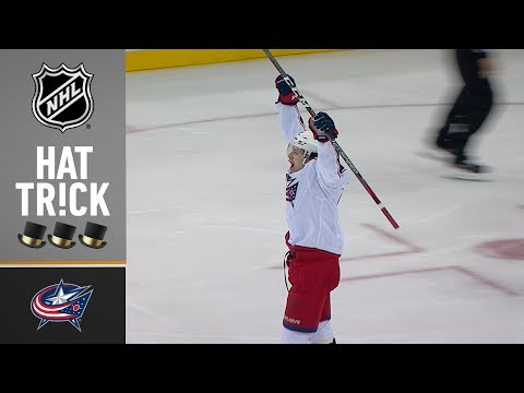 Panarin dazzles with second NHL hat trick