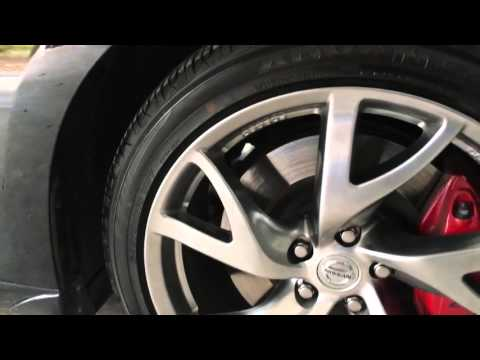 Yokohama AdvanSport A/S Tires on a Nissan 370Z