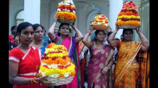 Bathukamma songs |  okkesi puvvesi chandamama