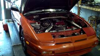 Nissan 180SX SR20DET S13 w/ Nistune daughter board @ Autodream Calgary