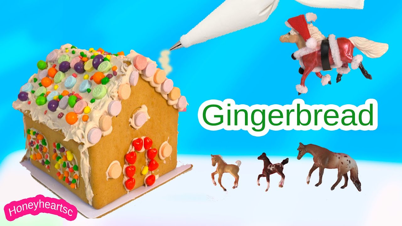 Diy gingerbread house with candy frosting do it yourself christmas diy gingerbread house with candy frosting do it yourself christmas holiday video solutioingenieria Gallery