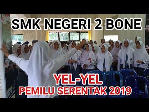 YEL-YEL PEMILU SERENTAK 2019: SMK NEGERI 2 BONE