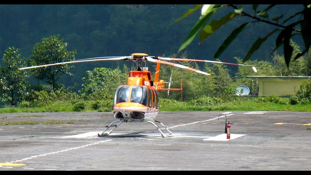 Gangtok Helicopter Service Rates | Luxury Tourist Attractions in Gangtok Sikkim