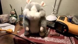 Takara Tomy Mimicry Pet Hamster Talking Plush Toy Talking Animal