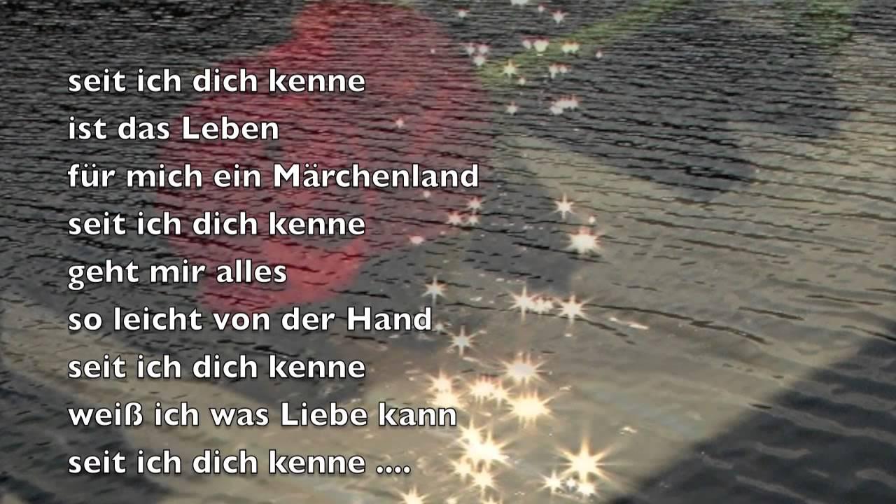 Seit Ich Dich Kenne Bernd Töpfer Gedicht 248 Youtube