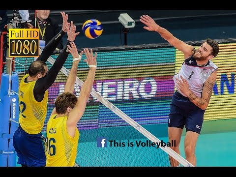 Brazil vs USA | 15 July 2016 | Final Round | 2016 FIVB Volleyball World League