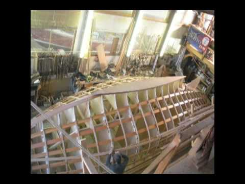 Wooden Sailboat Construction Time Lapse