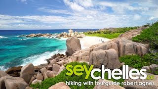 Hiking on La Digue with Seychelles Tourguide Robert Agnes