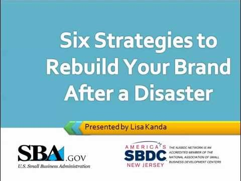 6 Strategies to Rebuild Your Brand After a Disaster