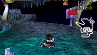 Chocobo Racing - Genkai heno Road Grand Prix Mode: Squall Leonhart (Bahamut class Difficulty)
