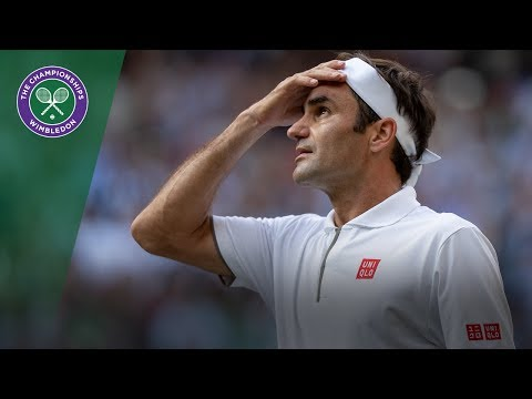Roger Federer   Top 10 points of Wimbledon 2019