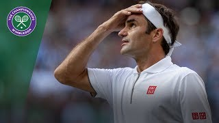 Roger Federer | Top 10 points of Wimbledon 2019