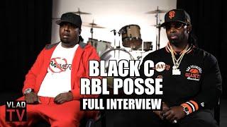 Black C on Forming RBL Posse, Mr Cee & Hitman Killed, Boobie Beef (Full Interview)