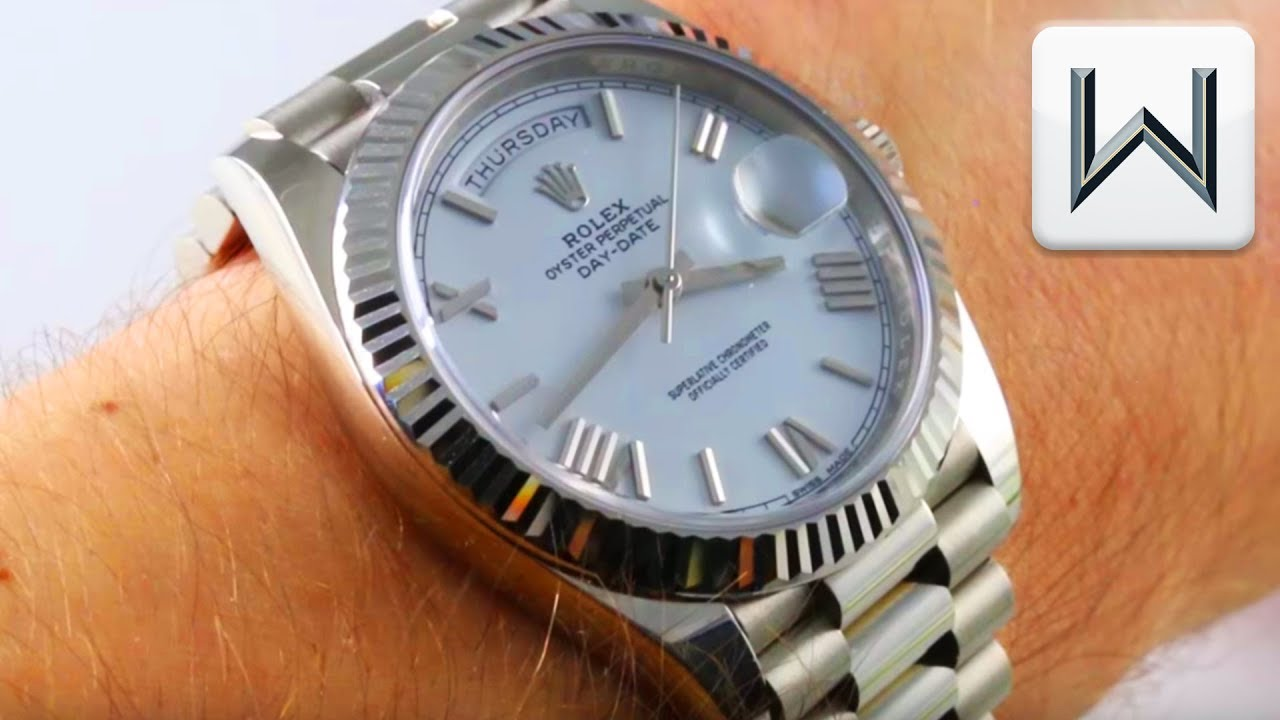 Rolex Day Date 40 White Dial 228239 Luxury Watch Review