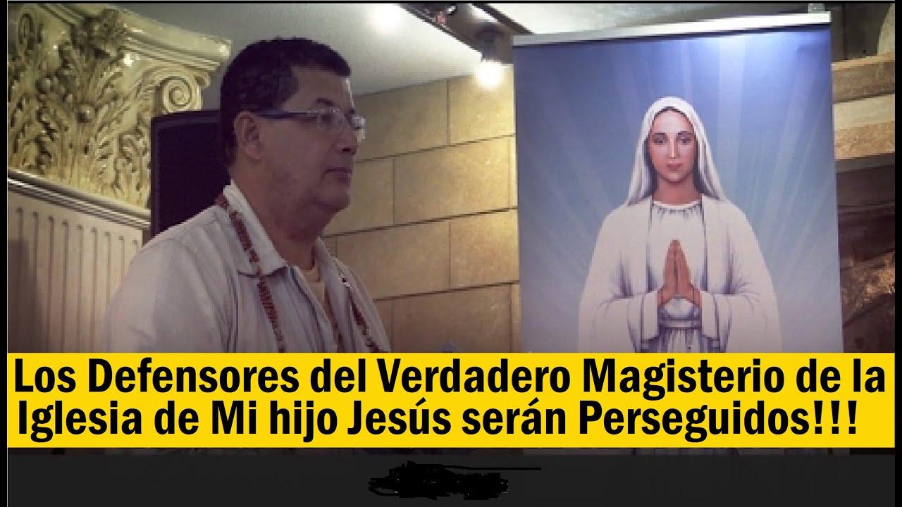 """Mensaje Revelación de la Virgen Maria """"Los Traidores de la FE se unirán para hacer el MAL"""""""