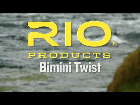 Bimini Twist Knot Tying Video - RIO Fishing Knots