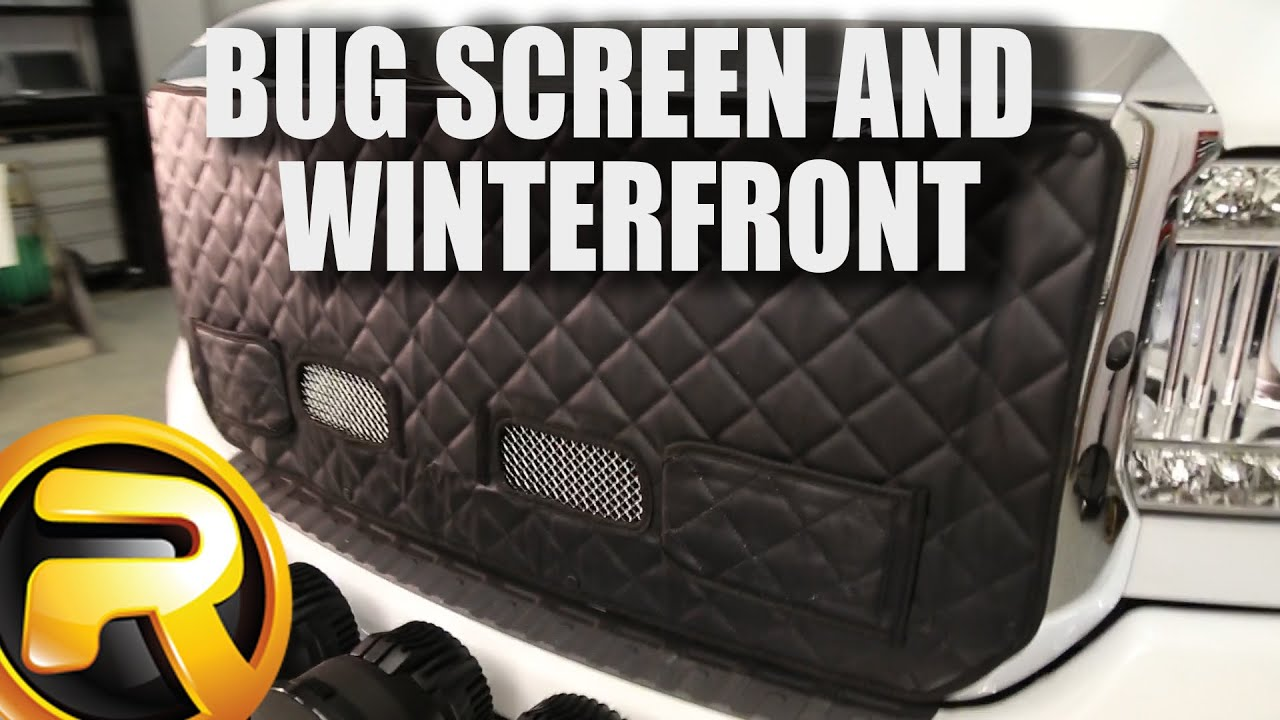 How to Install Fia Winter Front and Bug Screen