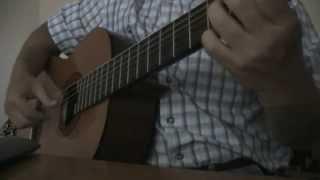 мелодия из передачи в мире животных (на гитаре)