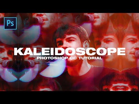 Kaleidoscope Photo Effect